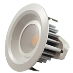 "MaxLite - 4"" LED Recessed - 9W - 3000K Warm White - 500 Lumens - Reflector Style - Damp & Wet Location - RR40930W"