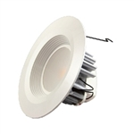 "MaxLite - 5"" & 6"" LED Recessed - 14W - 5000K Cool White - 1000 Lumens - Baffled Style - Damp & Wet Label - RR61450W"
