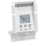 Cadet SBFT2W Thermostat, Smart-Base Double Pole Programmable Electronic Thermostat for Baseboard Heaters - White