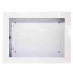 Cadet SLC-S Heater Wall Can for SL Series Heaters, Surface Mount - White