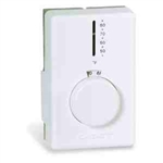 Cadet T4398A Thermostat, Performance w/Vapor Filled Diaphragm - White