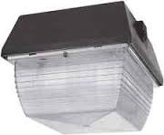 "Van3Hh50W/Pc Vandalproof 9"" X 9"" Ceiling 50W Mh 120V Plus Lamp Plus 120V Pc White"