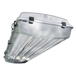 Howard Lighting - Vaporproof Highbay Fluorescent Fixture - 6-Lamp F54T5HO Program Rapid Standard Ballast - VHA1A654APSMV000000I