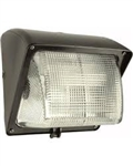 Wp1Gh100W/277/Pc2 Wallpack 100W Mh 277V Npf Glass Lens Plus Lamp Plus 277V Pc Bronze