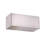 "WAC Lighting - Bric Wall Sconce - 3"" Length - Brushed Nickel - WS-11807-BN"