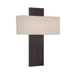 "WAC Lighting - Chicago Wall Sconce - 17"" Length - Brushed Bronze - WS-12517-BO"