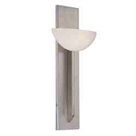"WAC Lighting - Emblem Wall Sconce - 20"" Length - Brushed Nickel - WS-13020-BN"