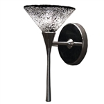 WAC Lighting - Micha Contemporary Collection Wall Sconce - Mirror Shade - Chrome - WS57LED-G559MRCH