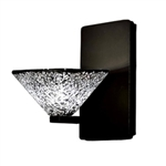 WAC Lighting - Micha Contemporary Collection Wall Sconce - Mirror Shade - Rubbed Bronze - WS58LED-G559MRRB