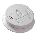Kidde i9070 Smoke Detector, Front Load 9V Battery Powered Ionization w/Hush Button (0976-9997)