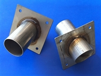"Exhaust Dumps 2 1/2"" (pair)"