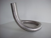 Exhaust Tube 2 1/2 SS Flex by the foot