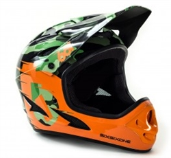 SixSixOne Comp Shifted Full Face Helmet