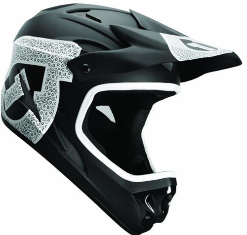 sixsixone comp shifted full face helmet. Black Bedroom Furniture Sets. Home Design Ideas
