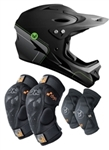 Demon MTB Mountain Bike Helmet Combo Pack