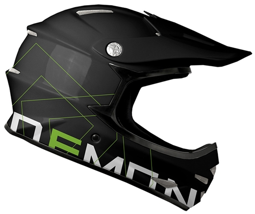 demon zero full face mountain bike helmet. Black Bedroom Furniture Sets. Home Design Ideas