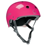 Pro-Tec Classic Pink Skate Helmet With Evo 2 stage Foam
