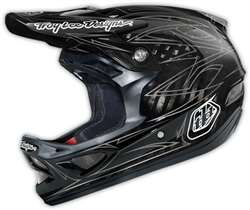 Troy Lee Designs D3 Helmet Pinstripe 2 CF