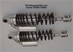TEC Alloy Remote Reservoir Shocks CB500 CB550