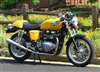 Triumph Stainless Steel 2 into 2 CLUBMAN Exhausts T100 SE Bonneville Thruxton