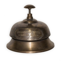 Goldfield Hotel Vintage Reception Bell