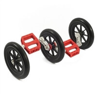 Fun Wheels are a great learning tool for aspiring unicyclists
