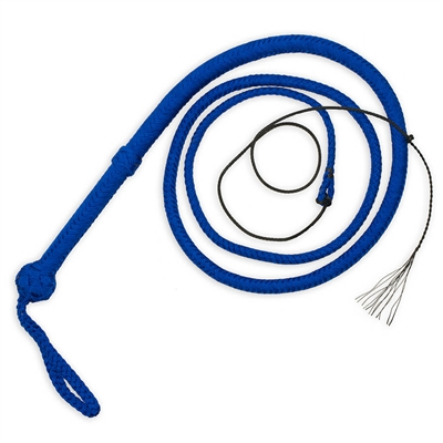 Durable Bullwhips made of nylon paracord.