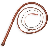 6' John Brady Signature Bullwhip Saddle Tan