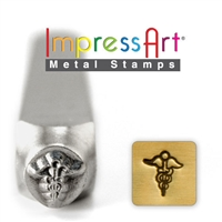 Impress Art Medical Sign Metal Design Stamp - SGSC1510-I-6MM