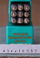 3mm Punctuation Metal Stamp Set - SGCH-PUN3MM