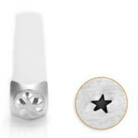 Impress Art Angled Star Metal Design Stamp - SGSC1517-F-3MM