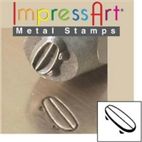 Impress Art Skateboard Metal Design Stamp - SGSC157-C-6MM