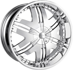 DIP Wheels Chrome Phoenix Center Cap C10D36