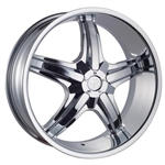 Phino Wheels PW18A Replacement Center Cap