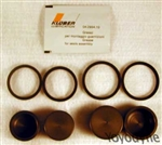 30/34 Piston/Seal kit for 4 Piston GP Caliper - Gold Line Calipers Brembo