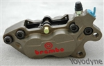 Brembo GP P4 30/34 Caliper 2 Piece Billet GP - right front