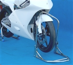 FOLDING FRONT ASSIST STAND -Honda RS125 95-07, GPMONO, NSF250, Moriwaki -  15.5mm