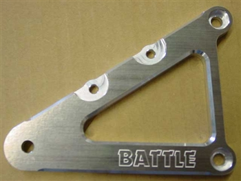 BATTLE REARSET BRKT Honda RS125 -94 (R - STD Position) replaces Honda  # 50630-NF4-770