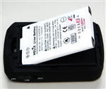 Replacement battery for BT-Q1000eX Qstarz GPS
