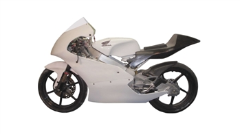 Upper/Lower fairing EVO XL - NSF250R Wider and taller fairing.  Use with SF21353 windscreen