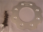 Billet clutch Basket Backer Plate