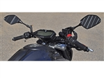 Yamaha FZ07 '15 Clipon Adapter Plate 1 inch Riser Set w/Standard Black Bars