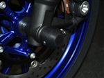 WoodCraft, Yam FZ09 - Front Axle Sliders