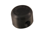 Shorty Slider Puck, Black Plastic