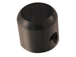 Short Universal Slider Puck, Black Plastic