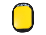 Yellow Woodcraft Klucky Pucks, Set of 2