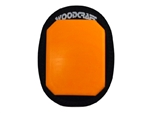 Orange Woodcraft Klucky Pucks, Set of 2