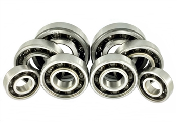 Ceramic Hybrid Bearings set - Sprocket carrier (stock and Talon) and 4 wheel bearings for RS125/MD250/NSF250