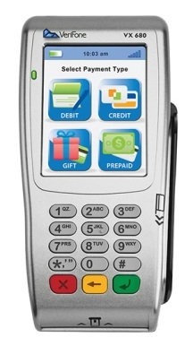 VeriFone VX 680 Wi-Fi/ BT Refurb