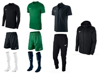 2. Compulsory Package (Goalkeeper) adult sizing